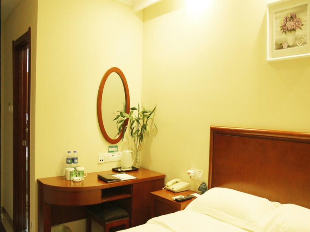 King Size Κρεβάτι - Δωμάτιο GreenTree Inn YingTan GuiXi Plaza JinFeng Mansion Business Hotel