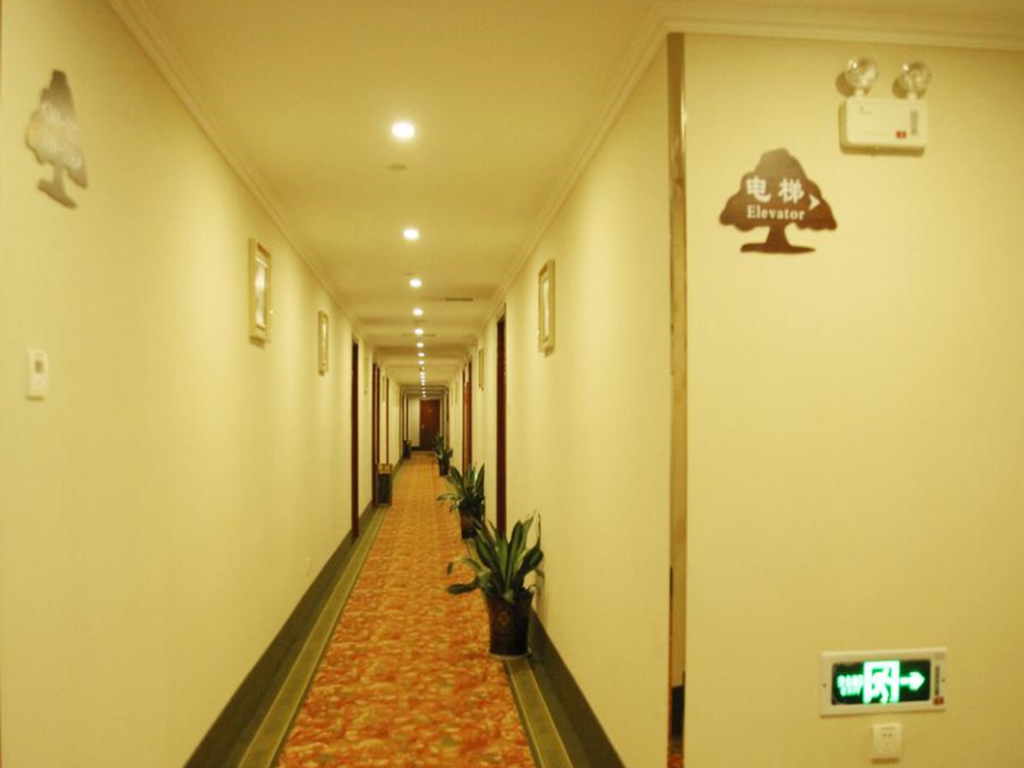 Interior view GreenTree Inn Yancheng Vehicle Administrative office Test Center Express Hotel