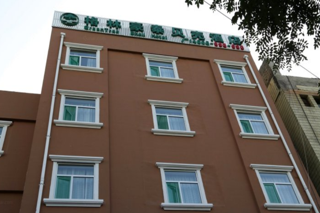 Buitenkant GreenTree Inn YunCheng South of Railway Station North FengHuang Road Shell Hotel
