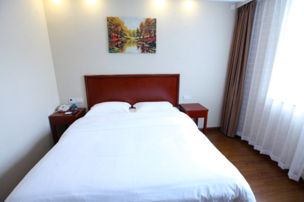 Standaard - Bed GreenTree Inn YunCheng South of Railway Station North FengHuang Road Shell Hotel