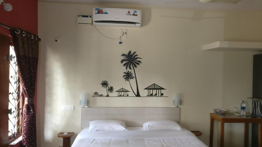 Deluxe kamer met airconditioning - Bed Palm Shade Spring
