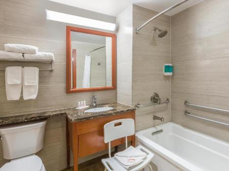 Bathroom Ramada by Wyndham Flushing Queens