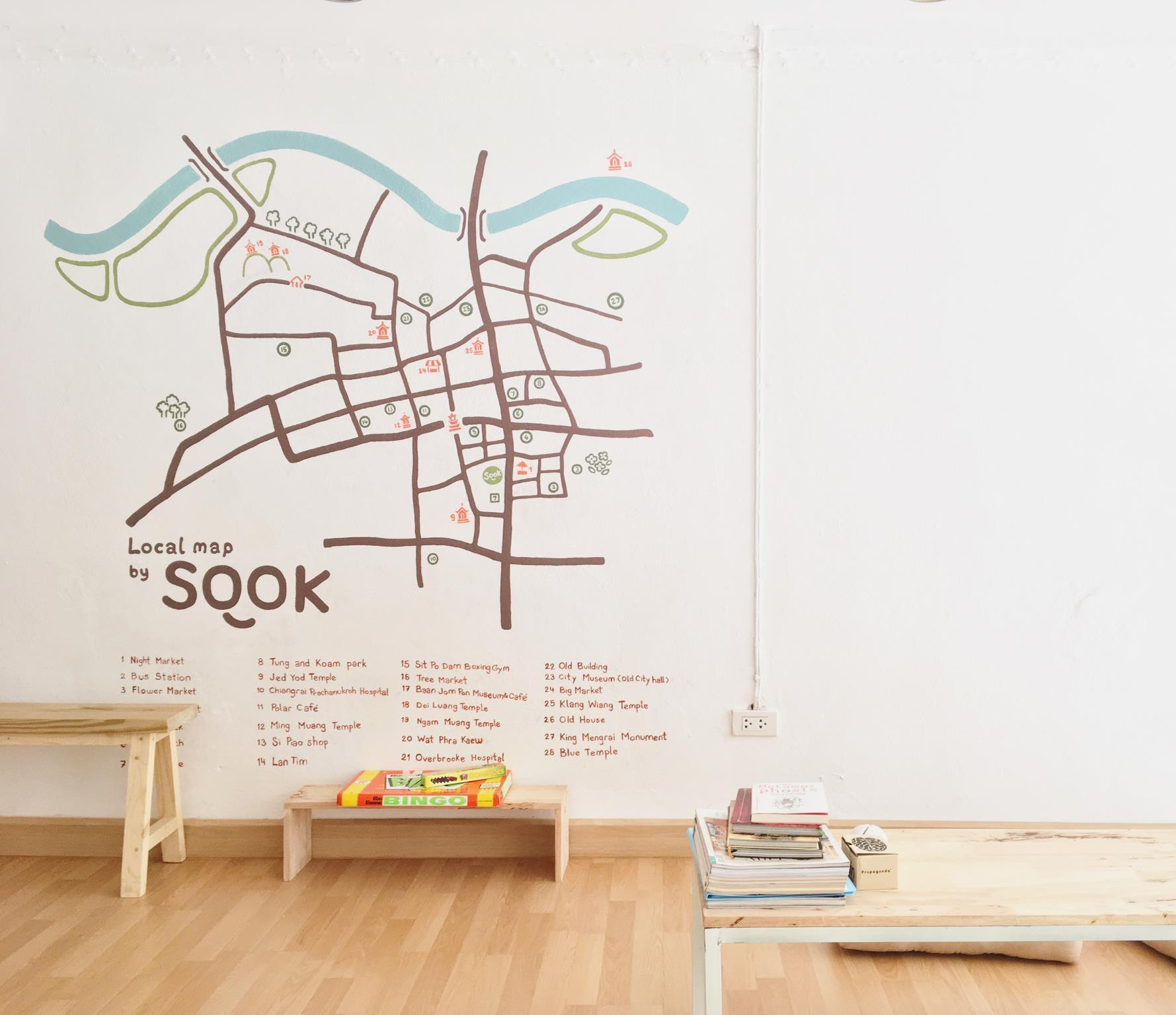 SOOK cafe and hostel in Chiang Rai - Room Deals, Photos & Reviews