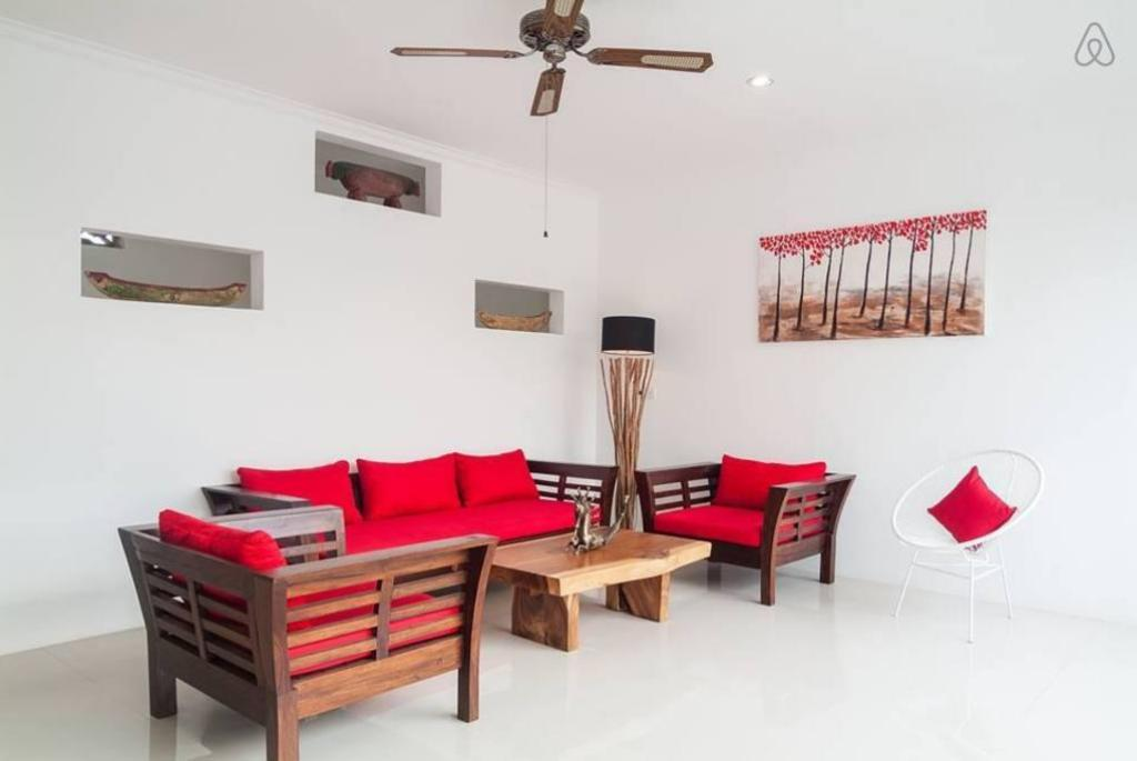 Vista Interior 18min walk to the beach,3BR Villa3 Seminyak/Oberoi