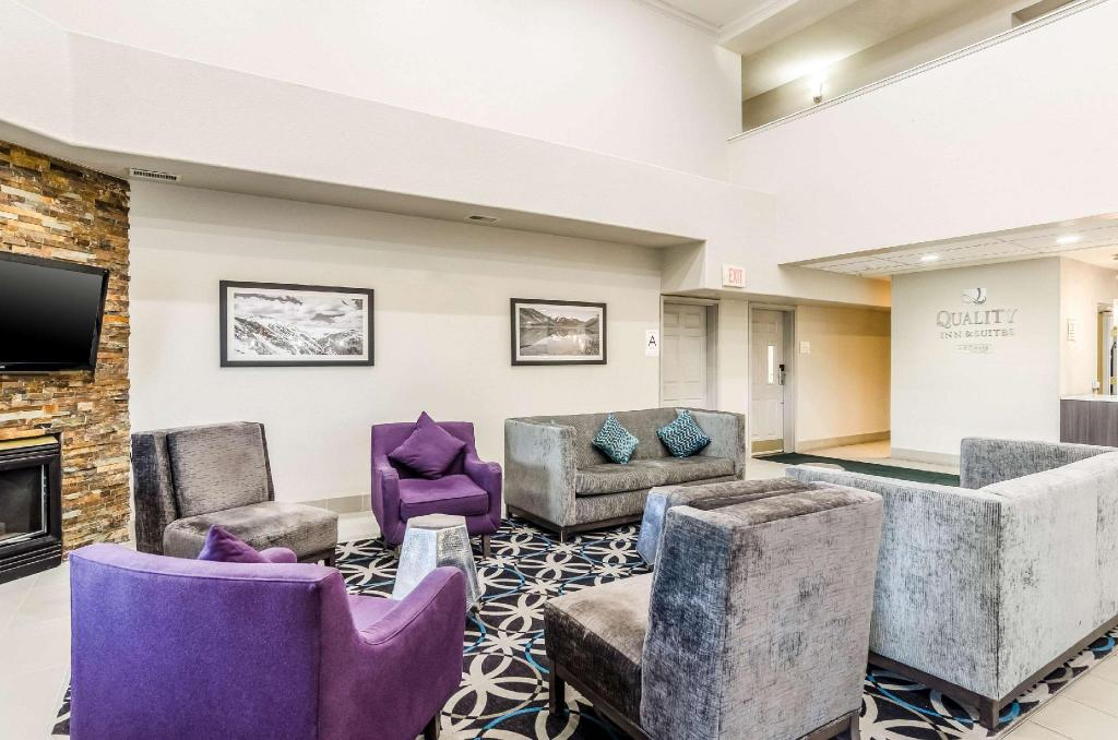 Előcsarnok Quality Inn and Suites Westminster - Broomfield