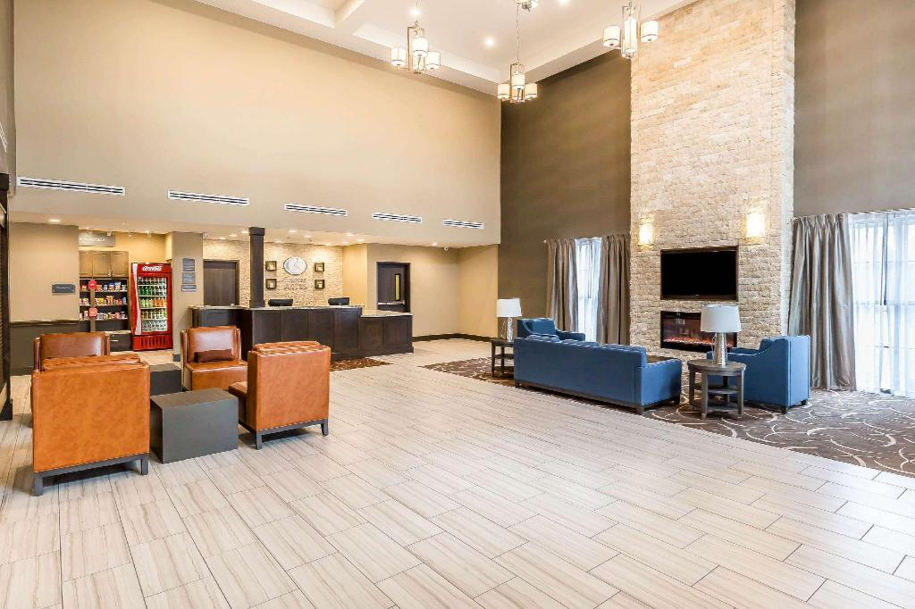 Előcsarnok Comfort Suites Northwest Houston at Beltway 8