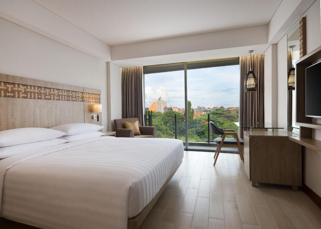 Deluxe King Room, Guest room, 1 King - Výhled Fairfield by Marriott Bali Legian