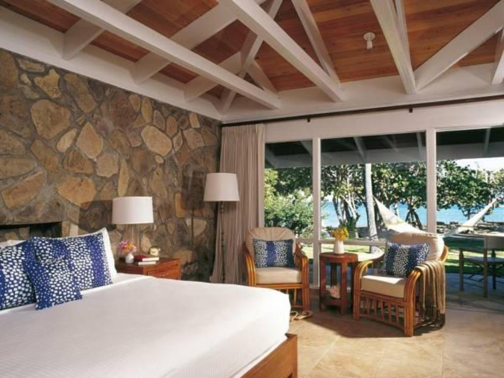 King or twin Room with Garden View Rosewood Little Dix Bay
