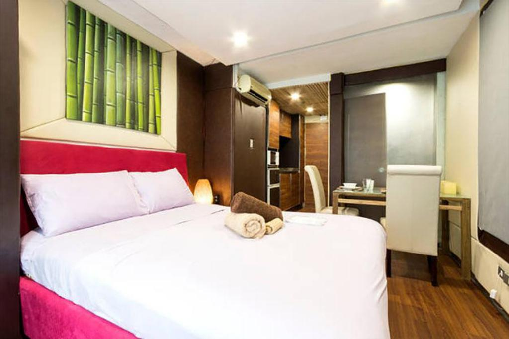 Κρεβάτι Boutique rooms in Condo Hotel (7)