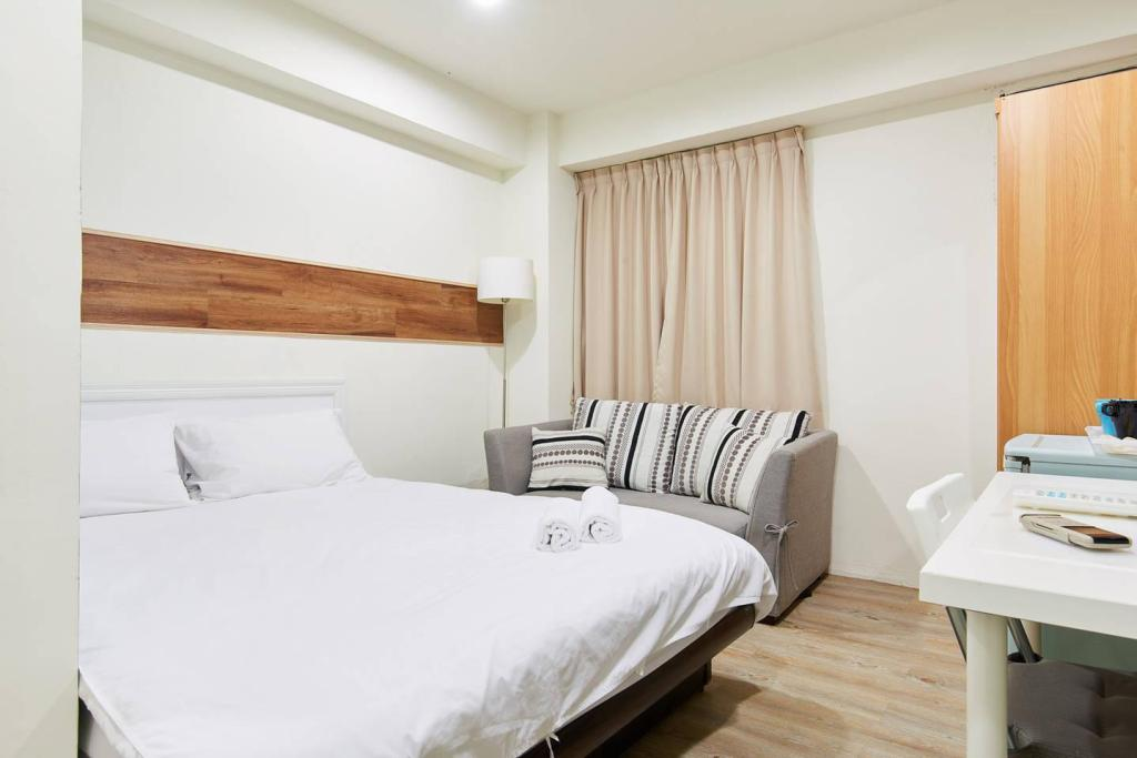Bed GNstay-Premier Double Room I