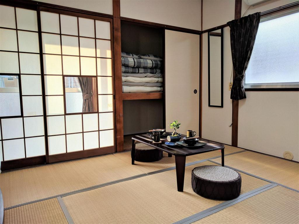 Interior view Japanese style apartment