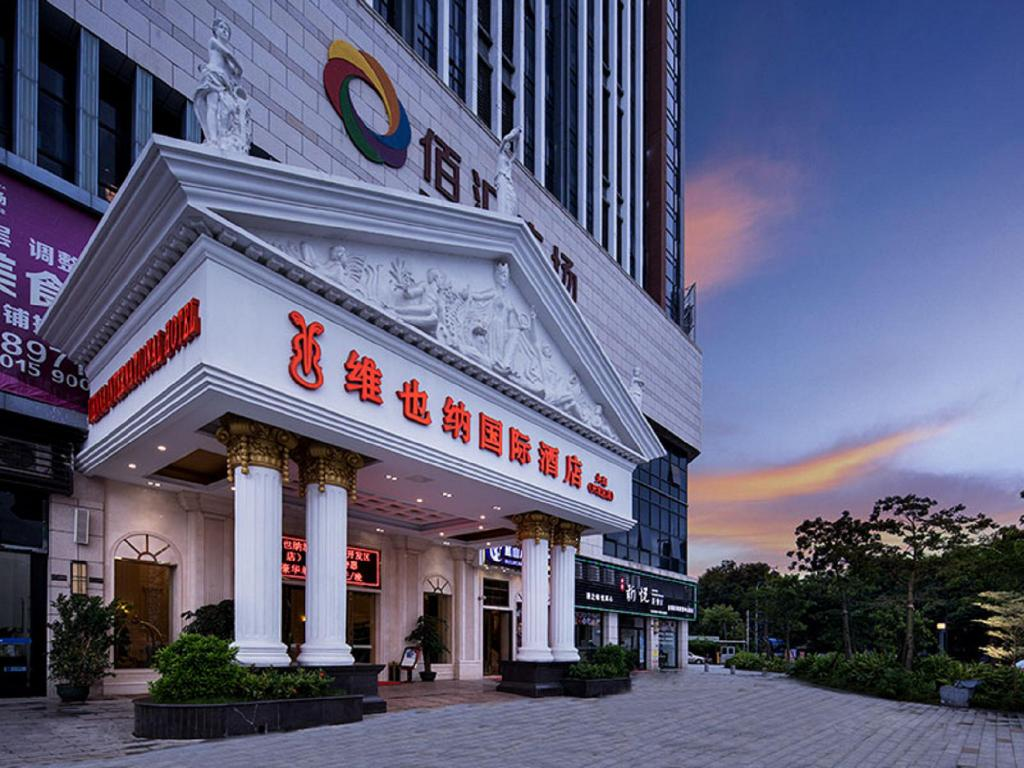 Budova hotelu Vienna International Hotel Zhongshan Torch Zone