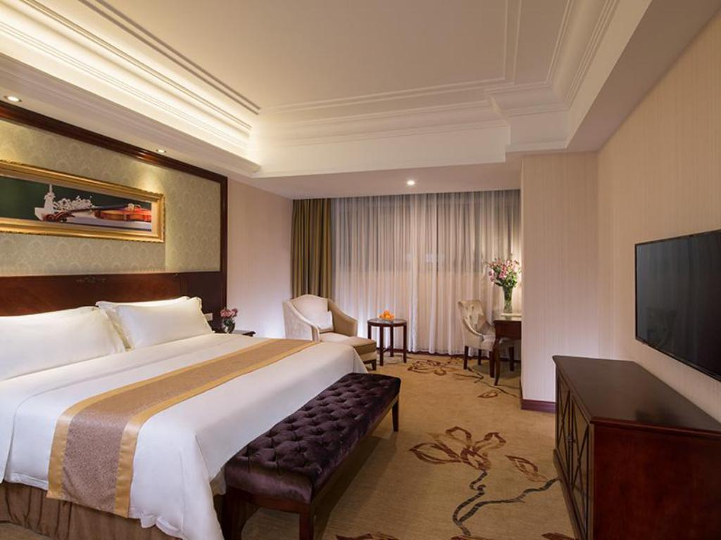 Deluxe King κρεβάτι - Δωμάτιο Vienna International Hotel Zhongshan Kanghua Road