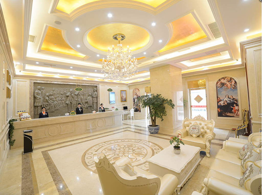 Reception Vienna Hotel Huzhou Changxing Mingzhu Road Branch