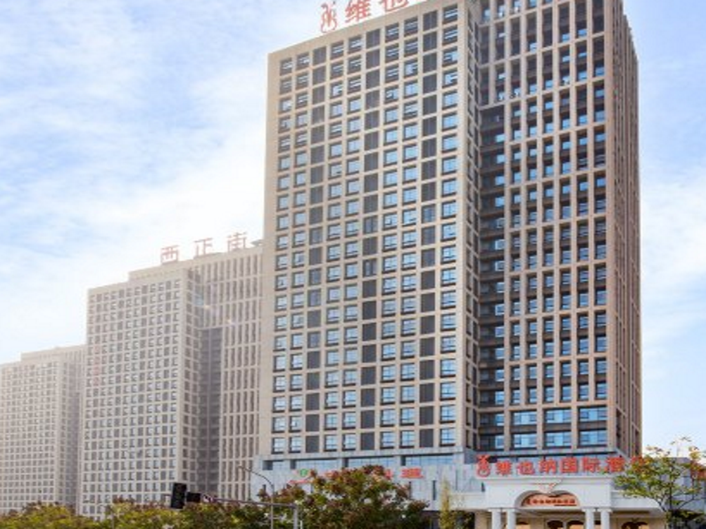 Buitenkant Vienna International Hotel Chongqing Yubei District Airport Branch