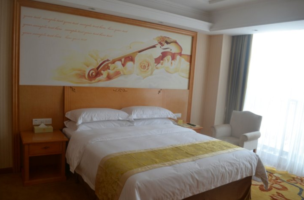Standard Single Bed - Bed Vienna Hotel Qingdao Huangdao Branch