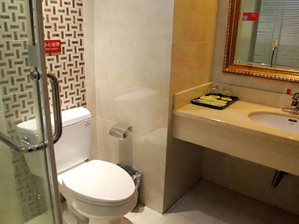 Business Single - Bathroom Vienna Hotel Jiangyin Yishan Road Branch