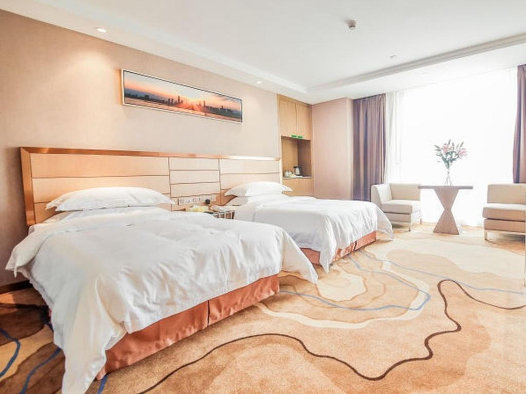Standard Single Bed - Guestroom Vienna International Hotel Wuhan Jiedaokou Branch