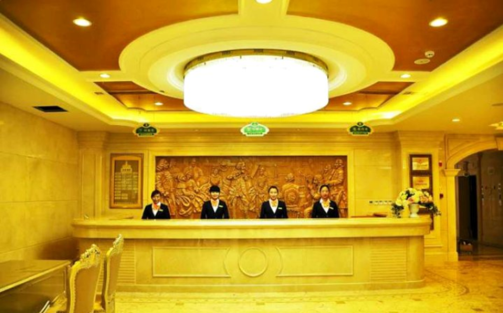 Recepce Vienna Hotel Wuxi Oufeng Branch (Vienna International Hotel Lhasa Potala Palace Branch)