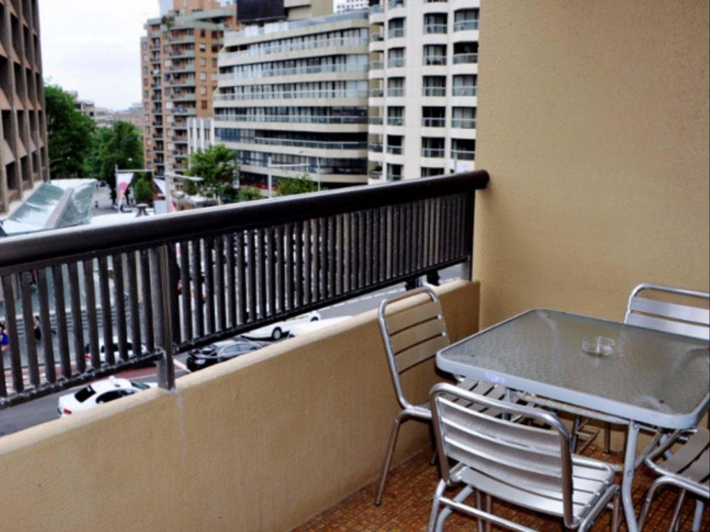Balkong/terasse Sydney Centre 1 Bedroom Apartment with Balcony