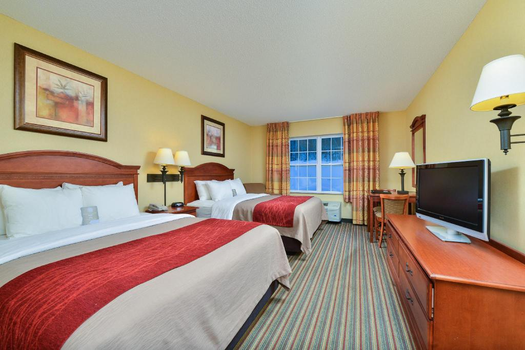 2 Queen Beds, Suite, Nonsmoking - Bed Comfort Inn and Suites Wilton