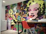 Art House Double Room-Pop Art