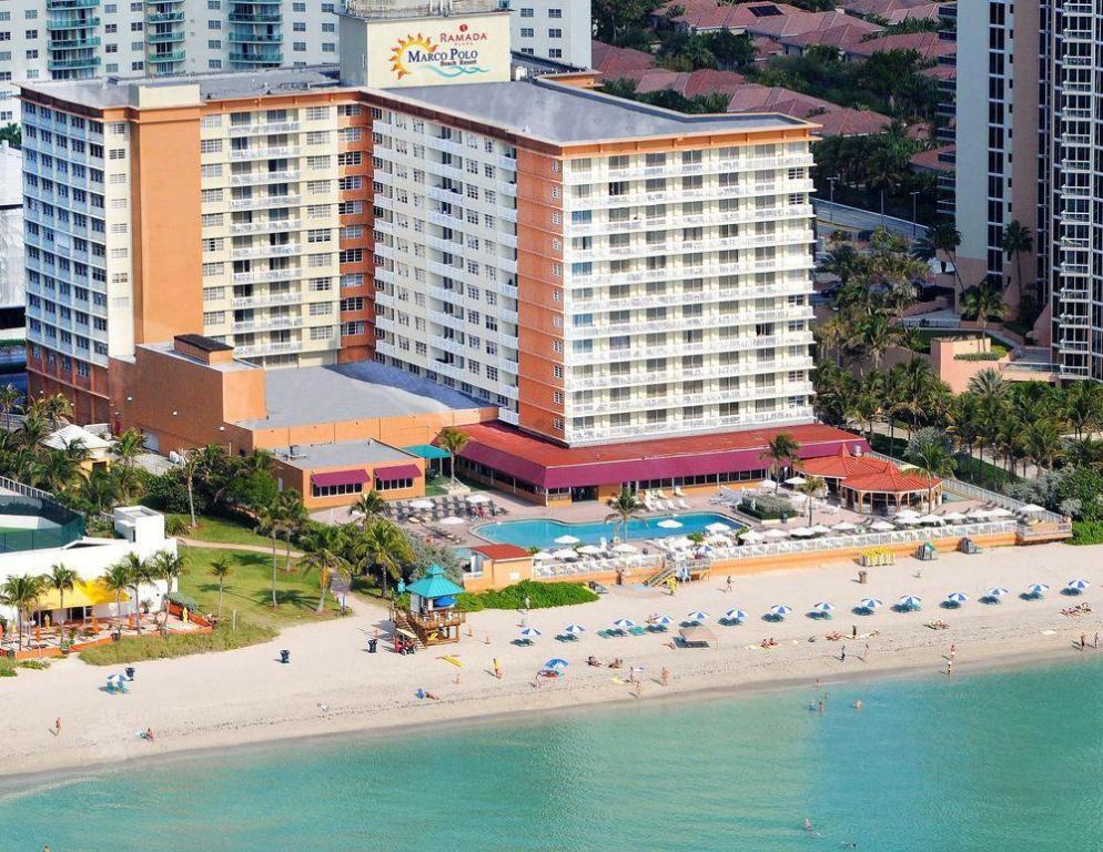 Ramada Plaza By Wyndham Marco Polo Beach Resort Hotel Miami