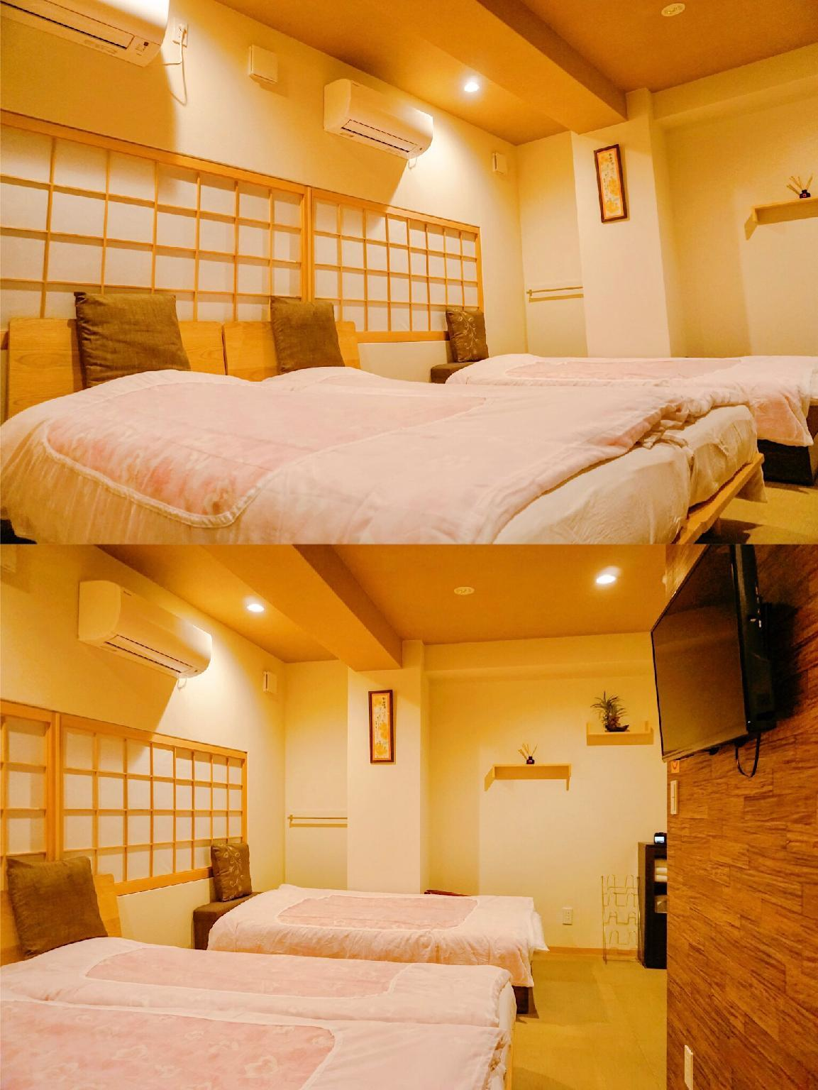Japanese Western Style Room for 3 People - Non-Smoking