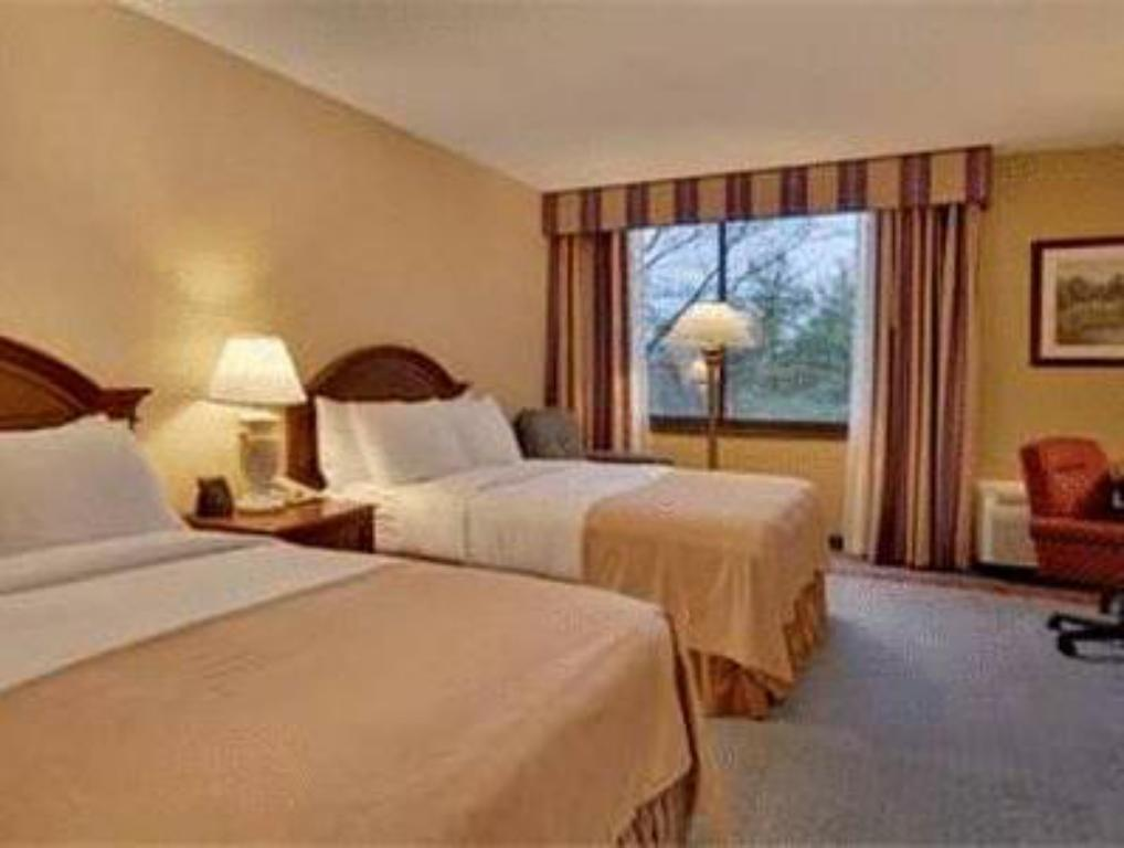 2 Katil Double - Katil Hilton Woodcliff Lake