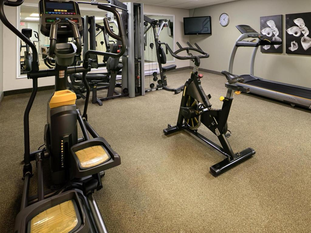 Fitness center Best Western Swan Castle Inn