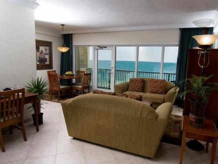 Oceanfront One-Bedroom Apartment - Non-Smoking