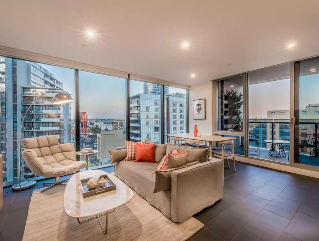2 Bedroom Luxury Apartment - in heart of South Yarra