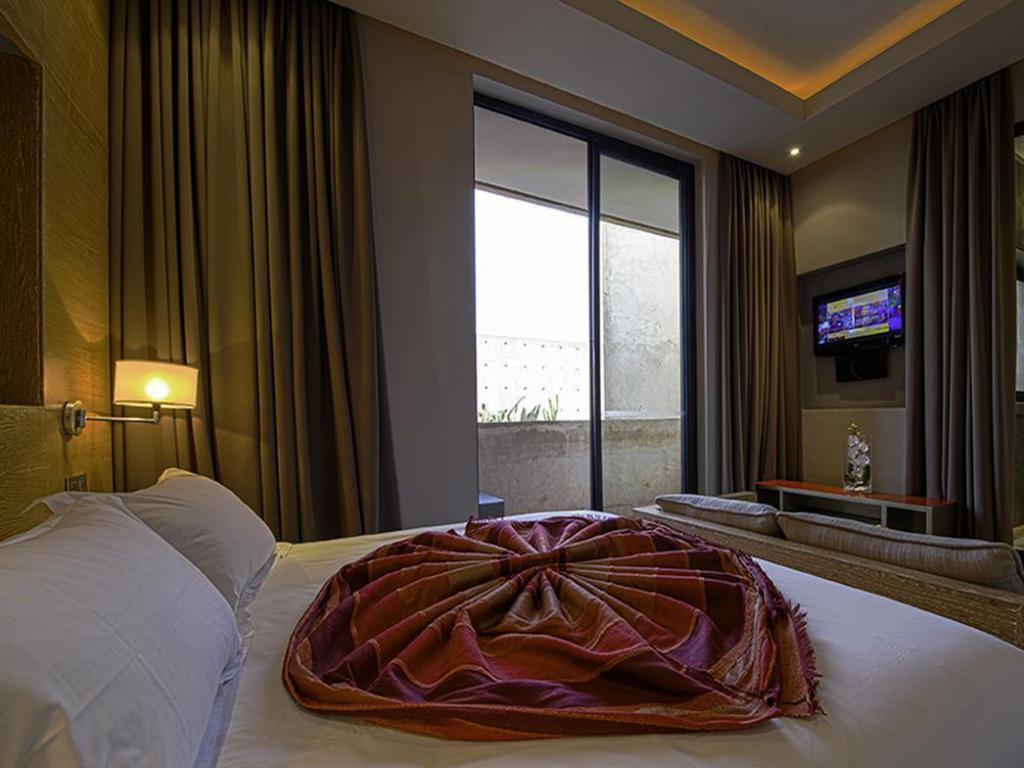 Double with Terrace - Bed Sirayane Boutique Hotel & Spa