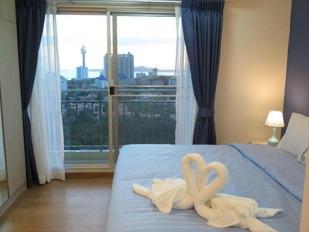 Bed Supalai Mare Jomtien Beach Pattaya Seaview by Dome