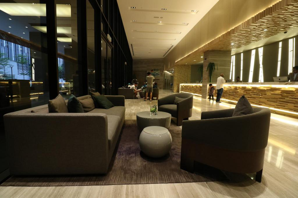 Lobby Victoria Home 188 Suites