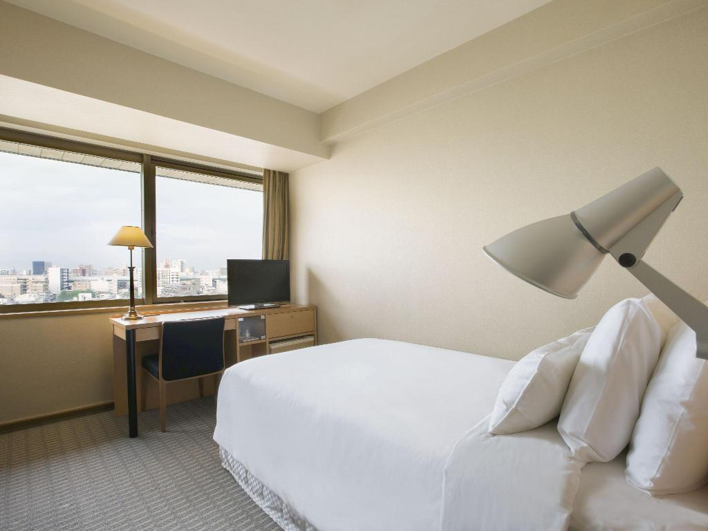 Standard Single Room - Smoking - Room plan HOTEL NAGOYA CASTLE