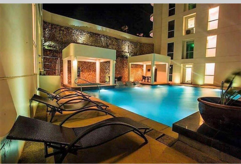 Swimming pool Oceanway Residences Boracay Cluster C Unit E 2Floor