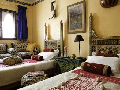 Kasbah Twin Room