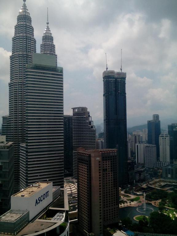 Pohled shora Vacation Homes @ Soho Suites KLCC