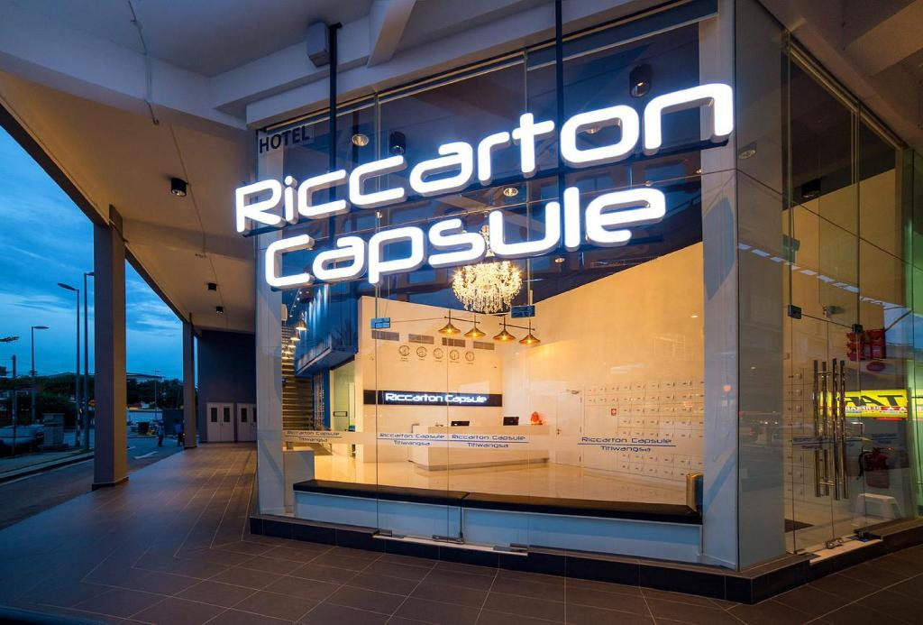 More about Riccarton Capsule Hotel