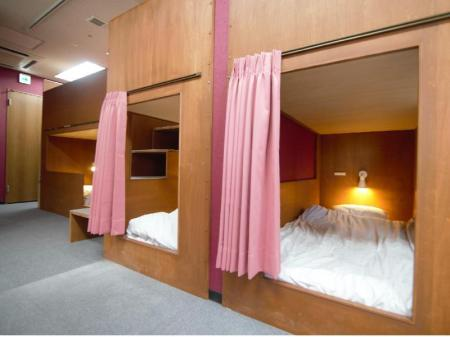 Bunk Bed in Mixed Dormitory Room - Bed Guest House TRACE Higashinihonbashi River side