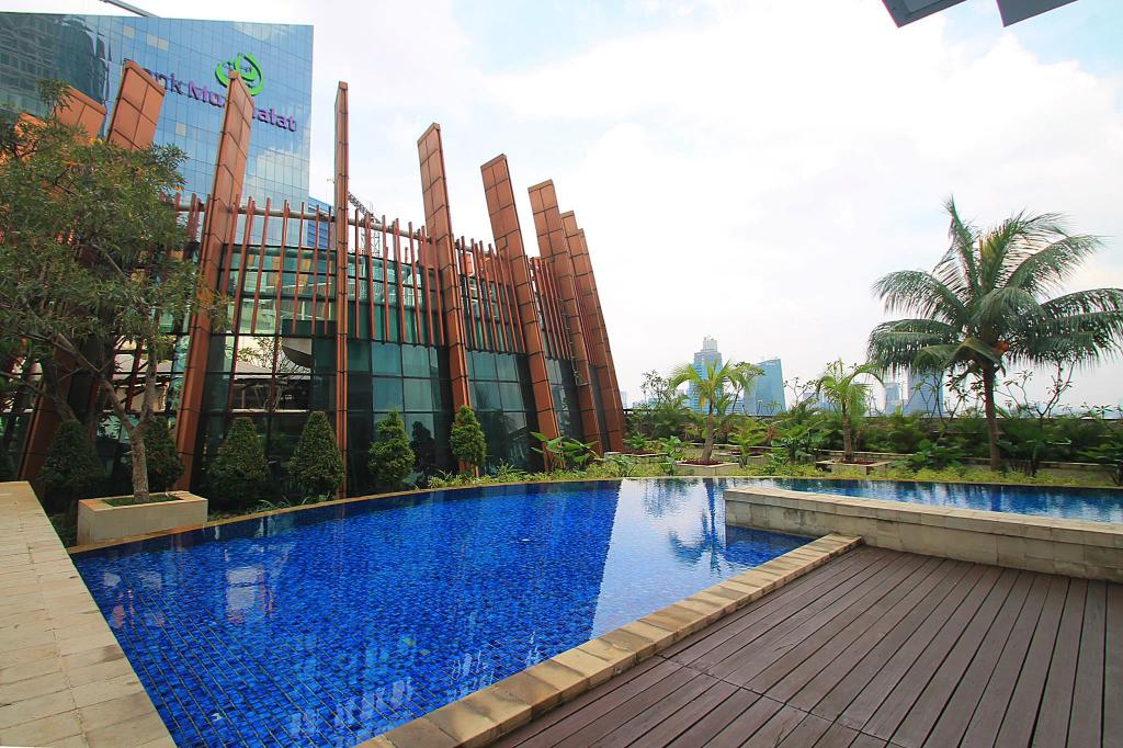Swimming pool Kuningan City Tower Ubud 1-bedroom Unit 8A-BE