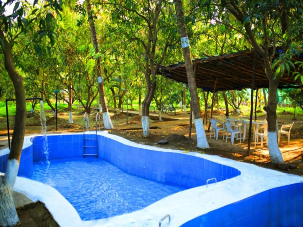 Swimming pool Tanmay Farms An Enchanting Gateway In Karjat