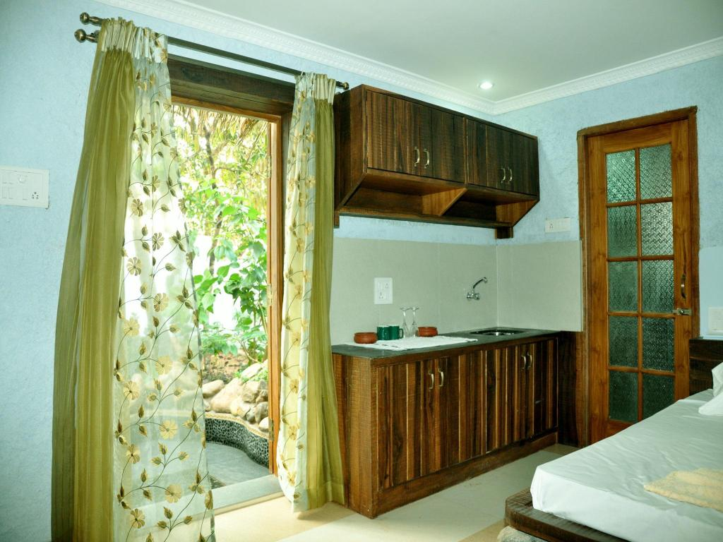 Kitchen Prime Villas Goa Paradise Studio Stay