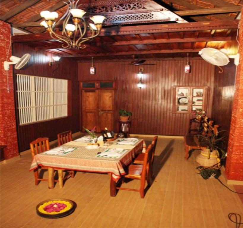 Interior view Mannaas Veedu -Countryside Deluxe Room