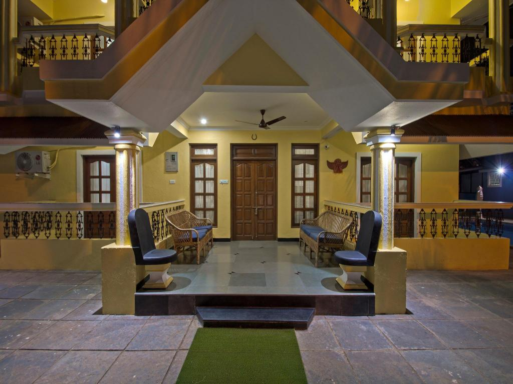 Lounge Villa Calangute Phase 2 Private 6 Br With Pool