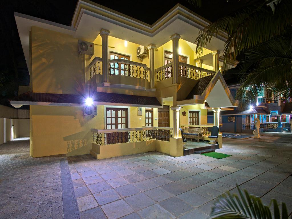 Villa Calangute Phase 2 Private 6 Br With Pool