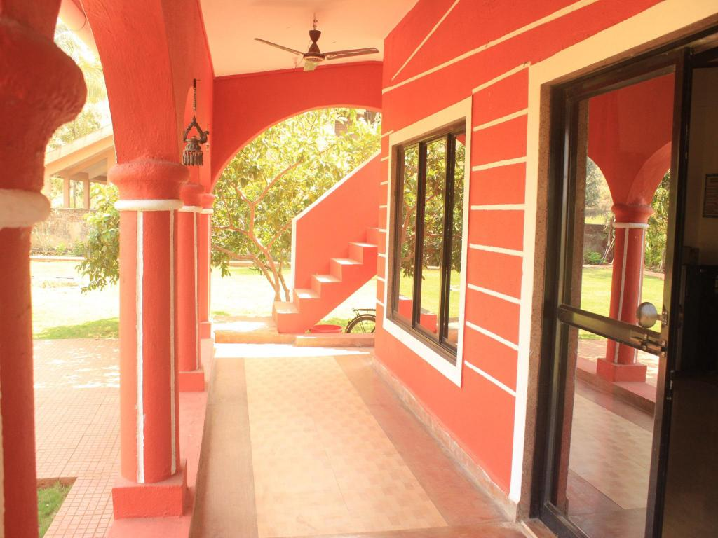 Aerial view Red House At Karjat Perfect For A Family