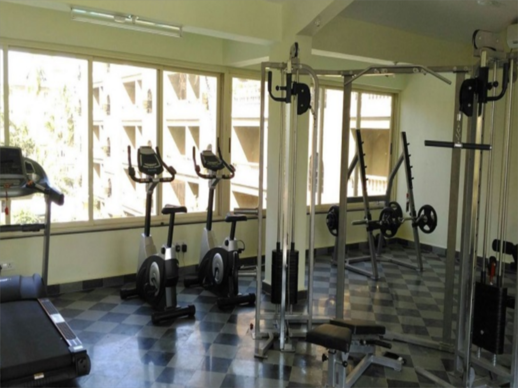 Fitness center Casamelhor- Cm064 2Br Apartment With Working Wifi