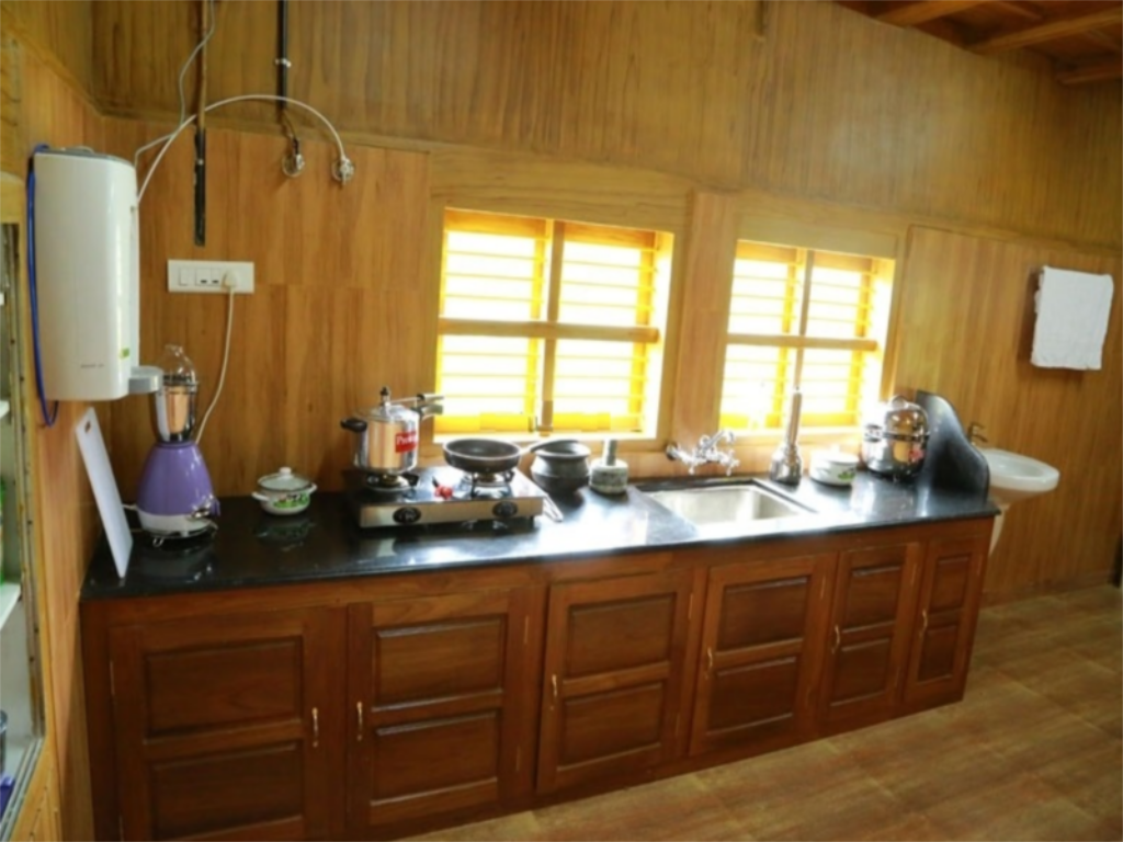 kitchen Nature Castle A Traditional Kerala Style